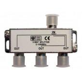 Разветвитель антенный 3 TV (254-113) (металл) (10)