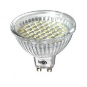 Лампа Feron JCDR 44LED (3W) 230V/6500/G5.3, LB-24 (1/200)