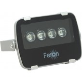Прожектор Feron 4LED 12W 1100Lm 230V/6500/IP65, серебро LL-138 (1/36)