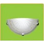 Светильник ASD НББ-04 081 1*60Вт/Е27 IP20 п/сфера Белый с золотистым орнаментом по кругу